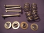 B7 - Brake shoe retaing pins / springs / clips  rear GT & Lotus