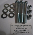 HA11 Steering Box Bolt set