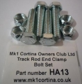 HA13 Track rod clamp bolt set