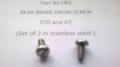HB3 - Rear Brake Drum Screw, R/H Stainless