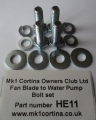 HE11 Fan blade bolt set