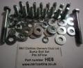 HE8 Sump bolt set Pre xflow