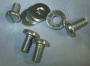 HE1 - Rocker cover screws & washers (set of 4)