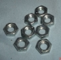 HE4 - Locking nuts rocker shaft valve adjustment screws (set of