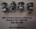 T60 - Bumper bolts (set4)