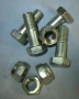 HA7 - Propshaft to diff flange nuts & bolts (set 4)