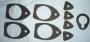 R26 - Door handle & boot lock gasket set 4-door